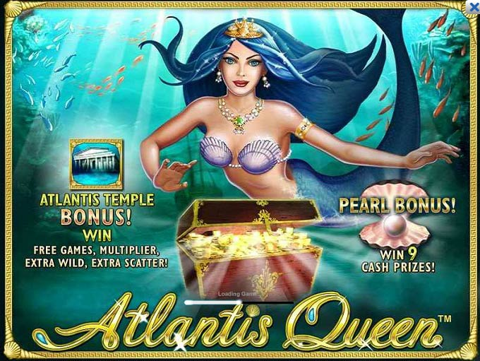 Atlantis Queen Video SLots Bonus
