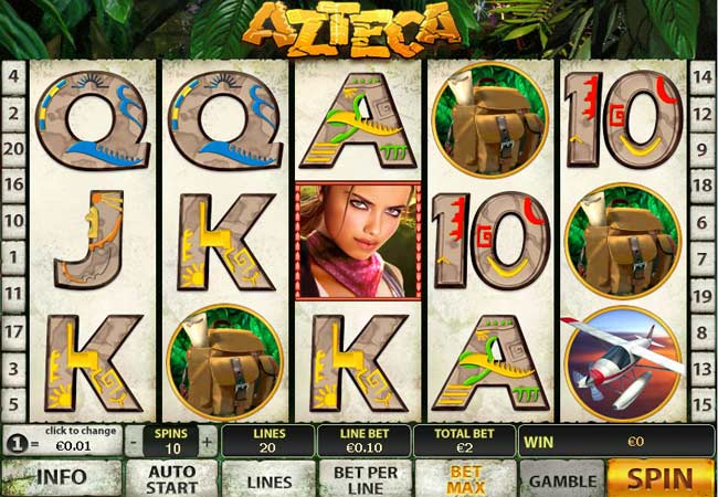Play Azteca Slots Online at Casino.com South Africa