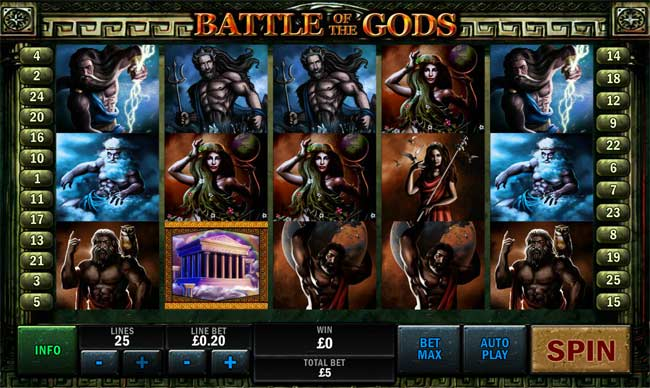 Play Battle of the Gods Online at Casino.com India