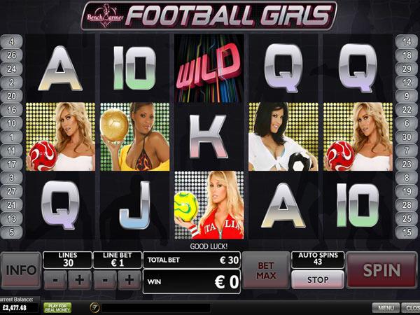 Play Benchwarmer Football Girls Slots Online at Casino.com Canada