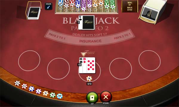 online blackjack pro casino game