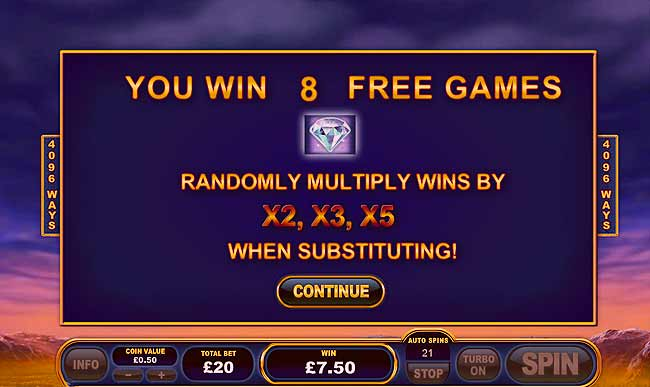 Play Buffalo Blitz Online Slots at Casino.com NZ