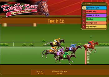 free casino horse racing betting games