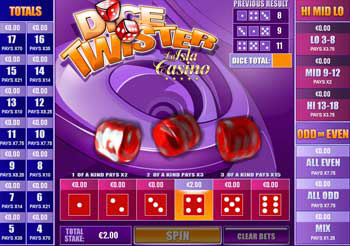 Play Dice Twister Arcade Games Online at Casino.com Australia