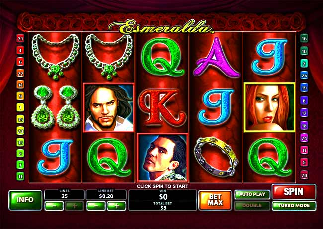 Play Esmeralda Slots Online at Casino.com Canada