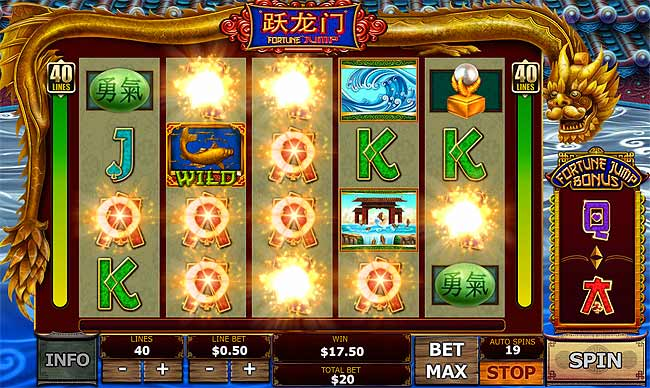 Fortune Jump Slots - Play Free Playtech Slot Games Online