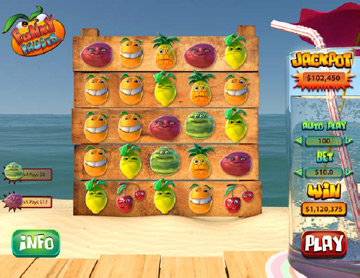Play Funky Fruit Online Slot at Casino.com New Zealand