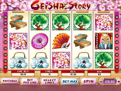 Geisha Story Jackpot Slot Machine Online ᐈ Playtech™ Casino Slots