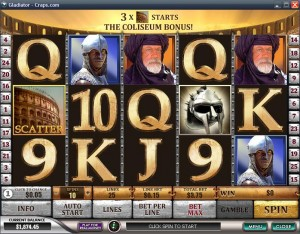 Gladiator Casino Online Game