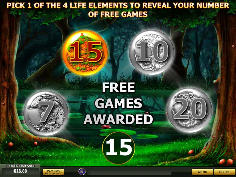 Goddess of life free spins