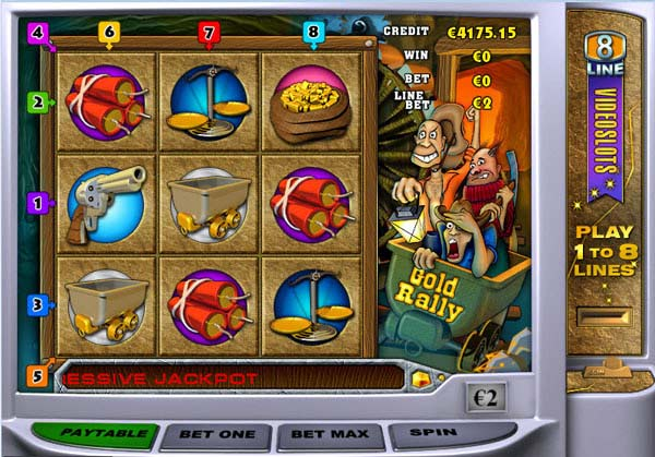 Gold Rally - Video Slots