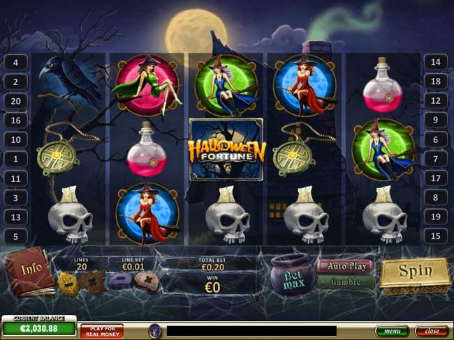 halloween fortune new online slots