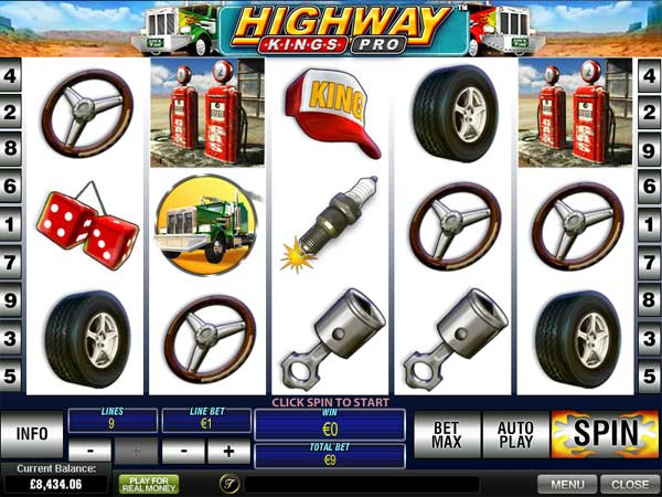 Highway Kings Pro Slot Machine Online ᐈ Playtech™ Casino Slots