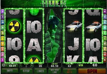 incredible hulk online slot game