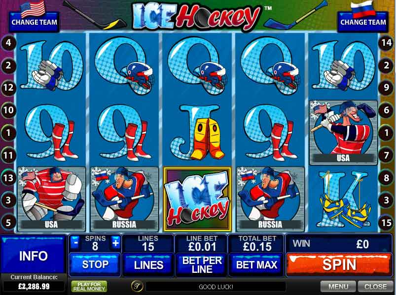 Play Ice Hockey Slots Online at Casino.com Canada