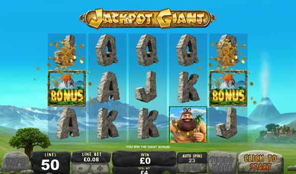 jackpot giant video slot