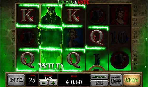 jeykll and hyde online video slot