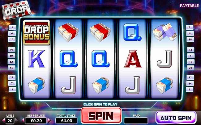 Play The Money Drop Slots Online at Casino.com NZ