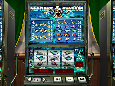 Play Neptunes Kingdom Online Pokies at Casino.com Australia