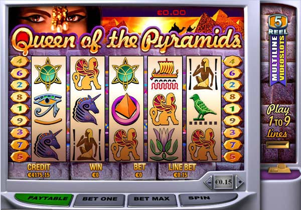 Play Queen of Pyramids Slots Online at Casino.com South Africa