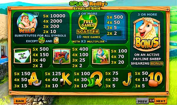 crops of gold online slot