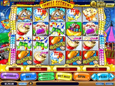 Play Thrill Seekers Slots Online at Casino.com Canada
