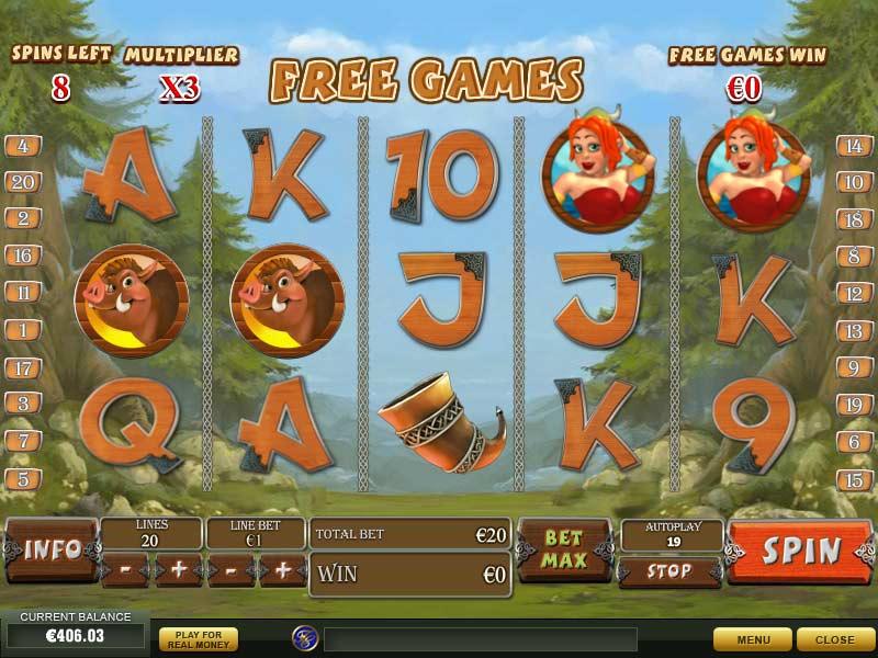 Play Viking Mania online slots at Casino.com