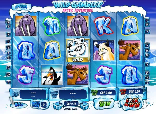 Wild Gambler Arctic Adventure™ Slot Machine Game to Play Free in Playtechs Online Casinos